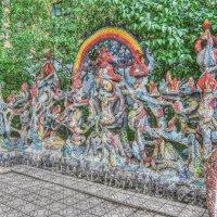 Мозаичный дворик в Петербурге! :: Натали Пам