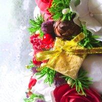 Красота в деталях. Малая часть елочки! Подарочек! :: Anna Dranovskaya