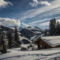 winter landscape in the mountains :: Dmitry Ozersky