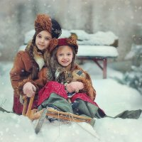 Новогодние приключения :: Надежда Шибина