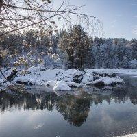 Голубое озеро на Катуни :: Александр Скалозубов