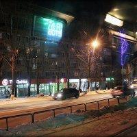 Трамвай в ночи.. :: Александр Шимохин