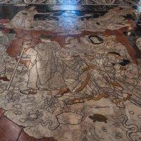 Duomo di Siena. Пол. Сюжет  Мудрость и Фортуна. :: Надежда Лаптева