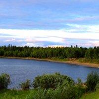 Вечером у озера :: Алла ZALLA