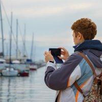 Туристка с мобильником :: Диана Тимонина