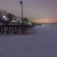 Утро на зимней Волге. :: Виктор Евстратов