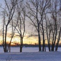 Встреча с закатом :: юрий Амосов