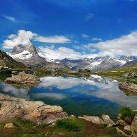 Вершины гор укрыло небо... :: Elena Wymann