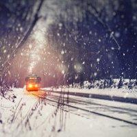Одинокий трамвай :: Фотохудожник Наталья Смирнова