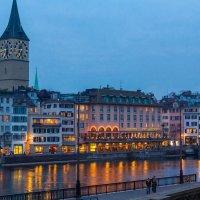 Вечер в Швейцарии :: Юрий Поздников