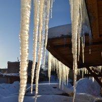 Ледяная занавеска :: Ольга
