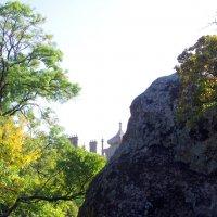 Вид из парка на Воронцовский дворец :: Валерий Новиков