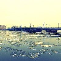 Благовещенский мост. Фотографировала Саша :: Фотогруппа Весна.