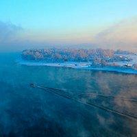 Следы на воде :: Анатолий Иргл