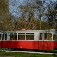 Памятник Евпаторийскому трамваю :: Александр Рыжов