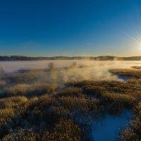 Зимняя река :: vladimir Bormotov