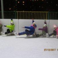 Веселые старты на льду :: Центр Юность