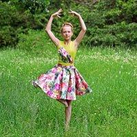 Юная балерина. :: Тамара Бучарская