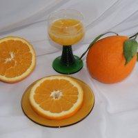 Натюрморт с апельсинами :: Mariya laimite