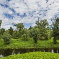 Река Мухавец. Брестская крепость :: leo yagonen