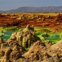 соль в кратере вулкана Даллоль :: Георгий