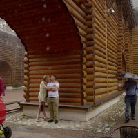 Люди под дождем. :: Оксана ДоброВольская