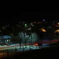 Сердобск ночью 18.01.2018 :: yriy rachek
