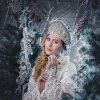 снегурочка2 :: Евгения Комарова
