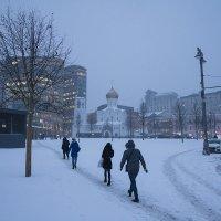 Морозным утром на работу :: Игорь Герман