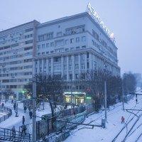 Зимнее утро в Москве. :: Игорь Герман