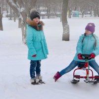 Дети любят зиму :: Наталия П