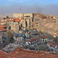 Анкара, крепость Хисар :: галина северинова