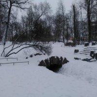 Мостик в Александровском парке. (Зима 2018 год). :: Светлана Калмыкова