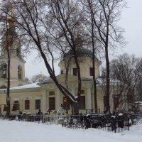 Церковь на Ваганьковском кладбище :: Андрей Лукьянов