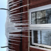 Зима, сосульки, солнце :: Ekaterina Podolina