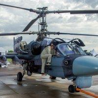 Ка-52 и техники :: Владимир Сырых