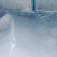 порывы ветра и снежные барханчики :: Роза Бара