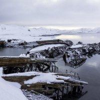 Лодки под снегом :: Александра