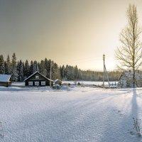 Деревня Холдынка. 24.01.2018. :: Федор Кованский