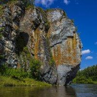 Камень Максимовский.Река Чусовая. :: алексей чусовской