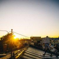 Прогулка по крышам :: Кирилл Гудков