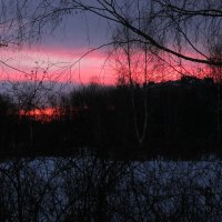 Январский рассвет :: Дмитрий Никитин