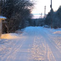 Улица, фонарь, утро, мороз :: Евгений Верзилин