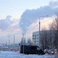 Морозное утро :: Евгений Верзилин