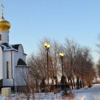 Храм-часовня Святого преподобного воина Фёдора Ушакова. :: Aлександр **