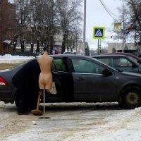 """""""До баньки не подбросите?"""" :: Егор Бабанов"""