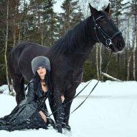 Зимняя прогулка. :: Анжелика Маркиза