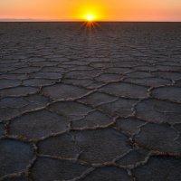 озеро соли Карум в пустыни Данакиль :: Георгий