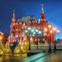 Исторический музей и Новый год :: Юлия Батурина