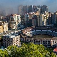 Туман над ареной для корриды, Малага :: Владимир Брагилевский